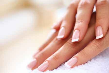 Classic Manicure - With French Tips