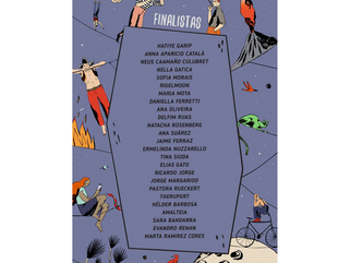 Hatiye Garipis selected as one of the finalists for the 10th International Illustration Meeting of