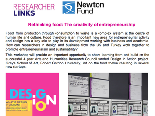 Call for participants to workshop on: Rethinking food: The creativity of entrepreneurship