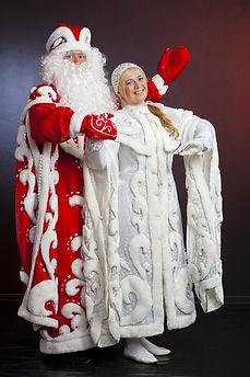 Дед Мороз и Снегурочка Москва