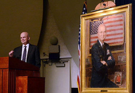 General Hayden portrait unveiling