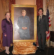 Portrait unveiling of Secertary of State Madeleine Albright at the US Department of State, Washington, D.C.