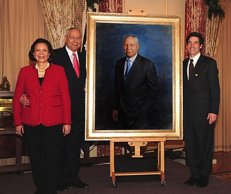 Portrait unveiling of General Colin Powell at the US Department of State, Washington, D.C.