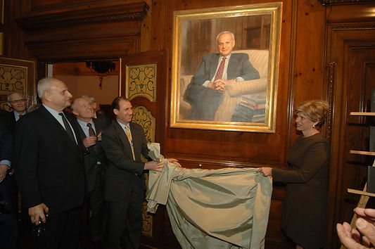 Portrait unveiling of Leslie Gelb at The Council on Foreign Relations, New York, NY