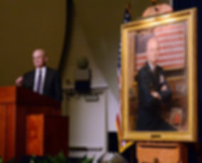 Portrait unveiling of General Michael Hayden CIA, Langley VA