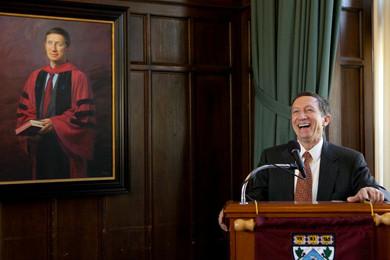Harvard portrait unveiling