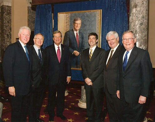 Portrait unveiling for Senator Trent Lott, Washington, D.C.