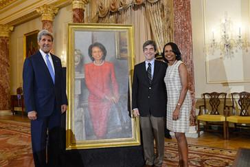 Condoleezza Rice portrait unveiling