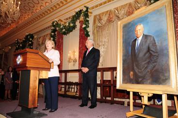 General Colin Powell portrait unveiling