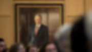 Portrait painting of Stephen Schwarzman at Schwarzman College, Tsinghua University
