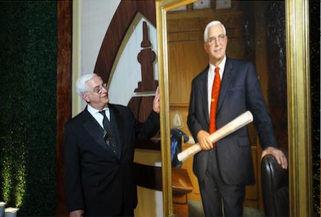 university portrait unveiling