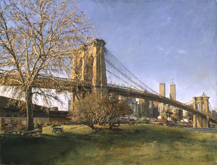 Brooklyn Bridge Winter