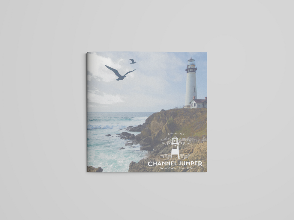 Square Brochure Mockup - Free Version fr