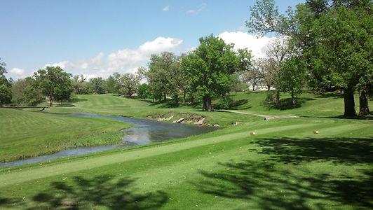 Linn Grove Country Club - Hole 1