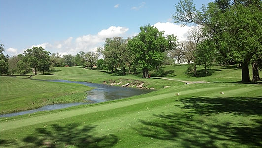 Linn Grove Country Club - Hole 1