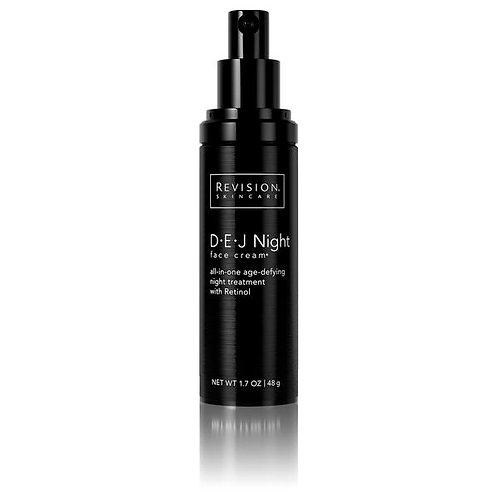 D·E·J Night face cream