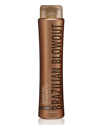Brazilian Blowout Açai Anti-Frizz Shampoo 12oz/350ml