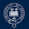 Oxford Univesity logo white lettering bl