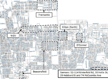 Recent Work - Possibilities of the Freo Alternative Planning Scheme; Beaconsfield