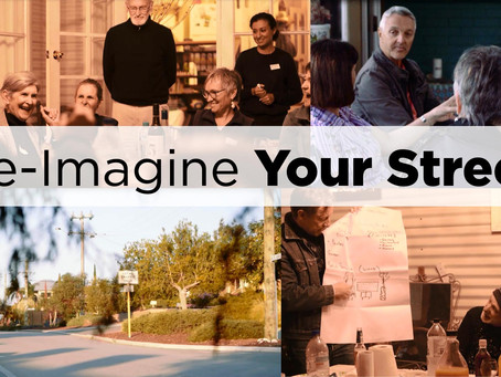 Re-Imagine Your Street - Week One