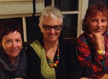Personalities of Co-Living: Pam, Alison and Gill