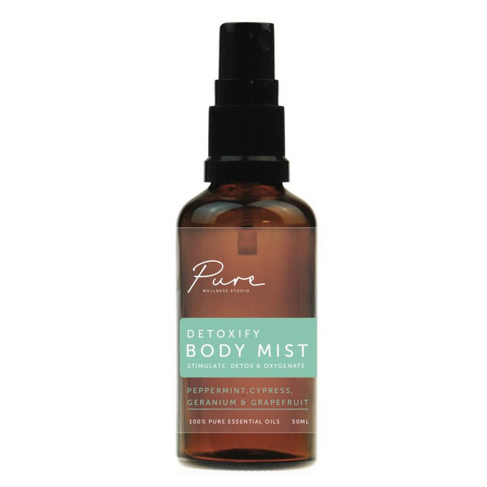 detox essential oil mist