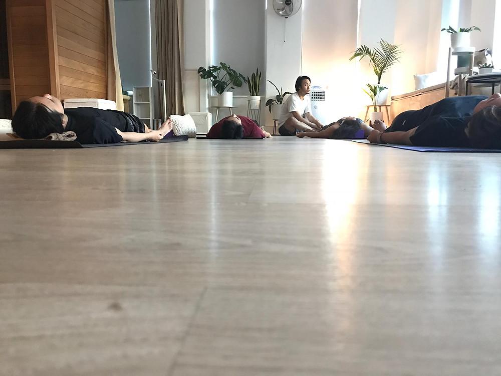 yoga studio melbourne city