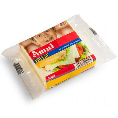 Amul Cheese Slices, 100gm Pouch