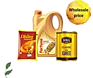 Cooking Oils & Ghee on Bullshit Basket at wholesale prices