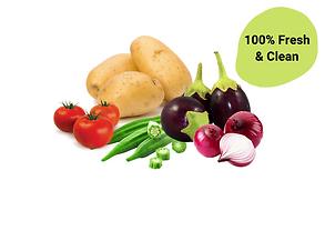 Fresh Vegetables on Bullshit Basket at Wholesale Prices.