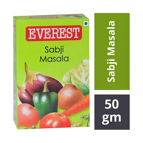 Everest Sabji Masala - 50gm Carton