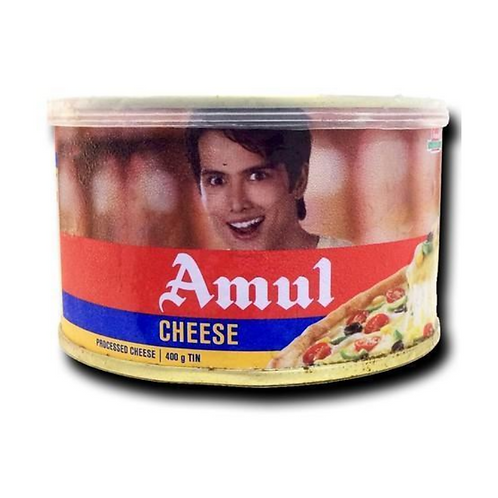 Amul Processed Cheese - 400gm Tin