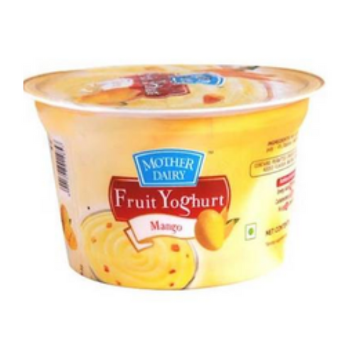 Mother Dairy Fruit Yoghurt - Mango, 100gm