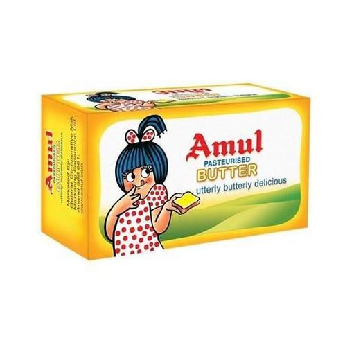 Amul Butter - Pasteurised, 500 g Carton