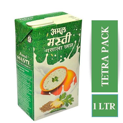 Amul Masti Buttermilk - Spice, 1 L