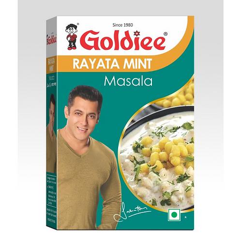 Goldiee Masala - Rayata, 100gm