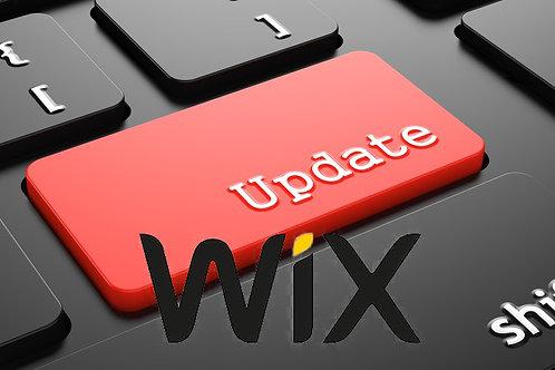 Update Wix (regelmässig nach Wunsch)