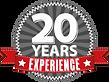 20 Jahre und mehr