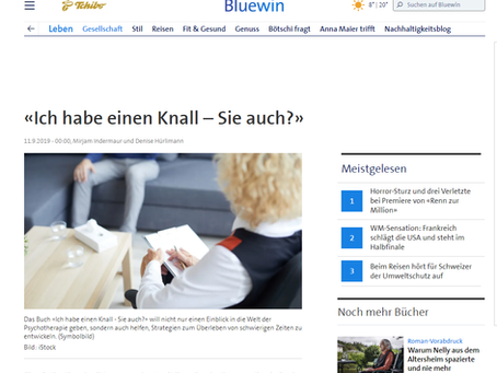 Heute stehen wir in Bluewin.ch