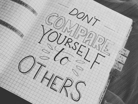 Die Gefahr, sich mit anderen zu vergleichen