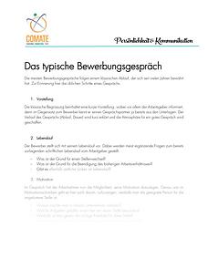 Infoblatt Bewebunggspräch