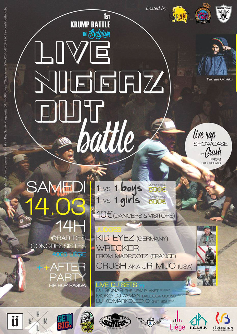 LIVE NIGGAZ OUT BATTLE
