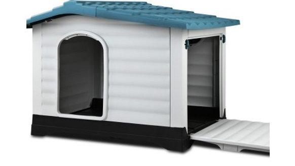 Weatherproof Pet Kennel - Blue