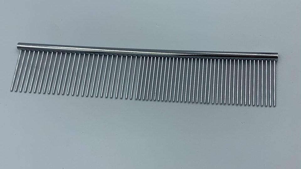 Metal Tooth Grooming Comb