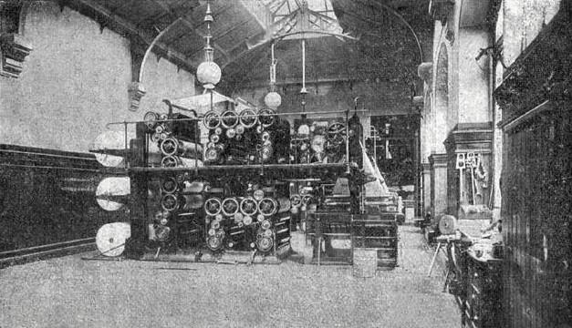 La salle des machines de La Dépêche du Midi