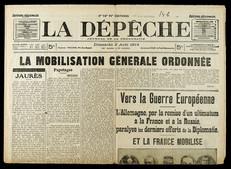Journal du 2 août 1914