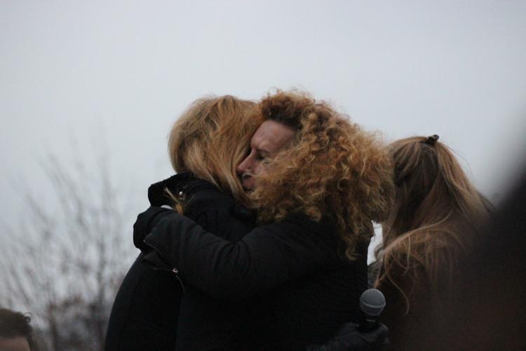 Tristesse après l'hommage