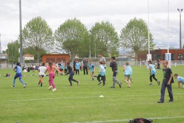 L'éducation des enfants à travers le rugby