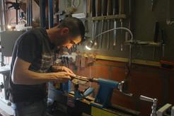 Jean-Gaël Serrano, artisan passionné de bois