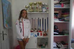 Maelle Millet, l'adolescente avant la championne